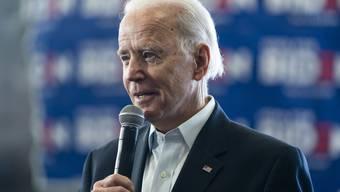 In Iowa und New Hampshire schnitt Joe Biden bei den Vorwahlen schlecht ab. (Archivbild)