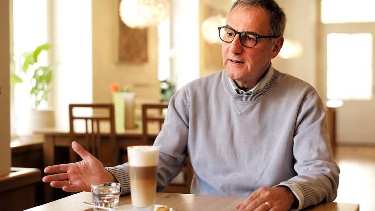 LDP-Kandidat Thomas Strahm gibt sich vor der Riehener Präsidentenwahl als Genussmensch mit Weitsicht.