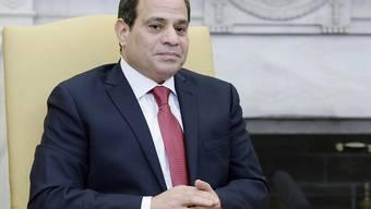 Ägyptens Präsident Al-Sisi will sich erneut wählen lassen. (Archiv)