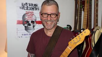 Rockmusik und SVP-Mitgliedschaft schliessen sich für Roger Hischier nicht aus.