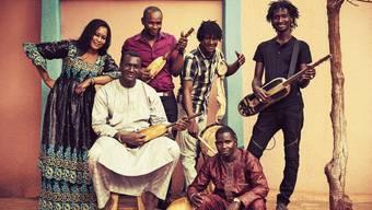 Trocken und dumpf: So klingt die westafrikanische Laute Ngoni. Bassekou Kouyaté und seine Gruppe Ngoni ba lassen die Laute auch verzerren und jaulen.Bild: Thomas Dorn