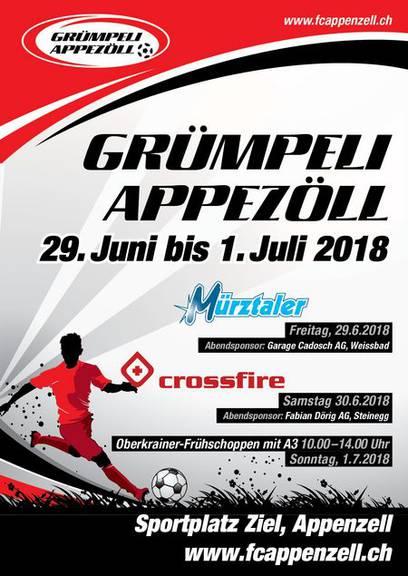 Über 1000 Fussballspielerinnen und Fussballspieler treffen sich am Wochenende in Appenzell (Bild: fcappenzell.ch)