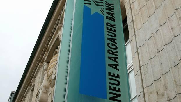 Die Neue Aargauer Bank konnte ihr Geschäftsergebnis um drei Prozent steigern. (Symbolbild)