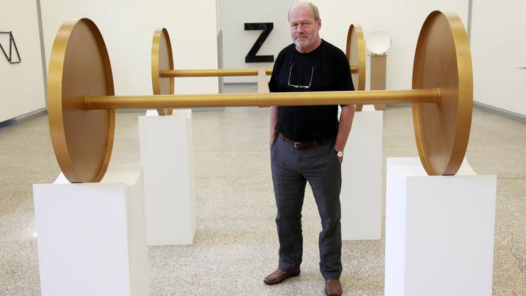Künstler René Zäch. (Archiv)