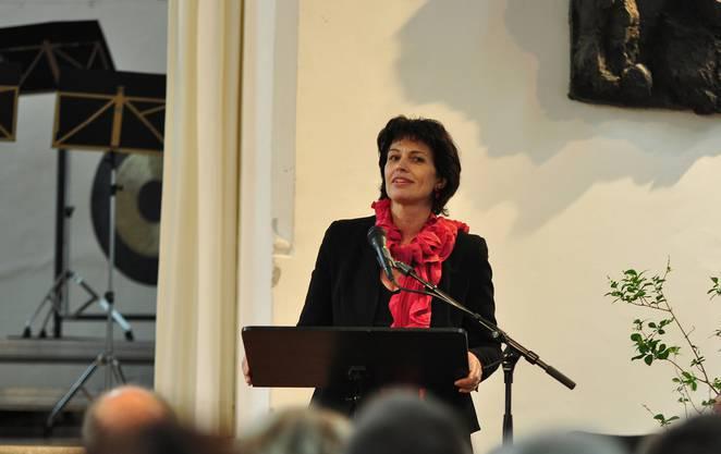 'Leuchtendes Symbol für die verbindende Kraft der Kultur', Bundesrätin Doris Leuthard
