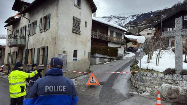 Die Polizei ermittelt nach der Schiesserei vom Mittwoch im Walliser Dorf Daillon