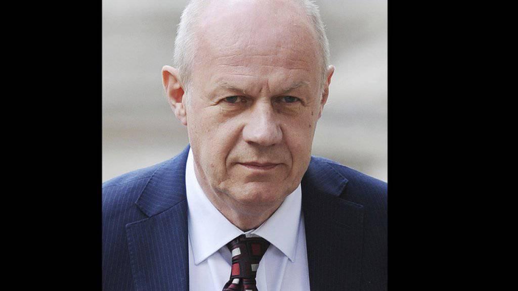 Der britische Kabinettschef Damian Green gerät wegen Sexismus-Vorwürfen zunehmend unter Druck. (Archiv)