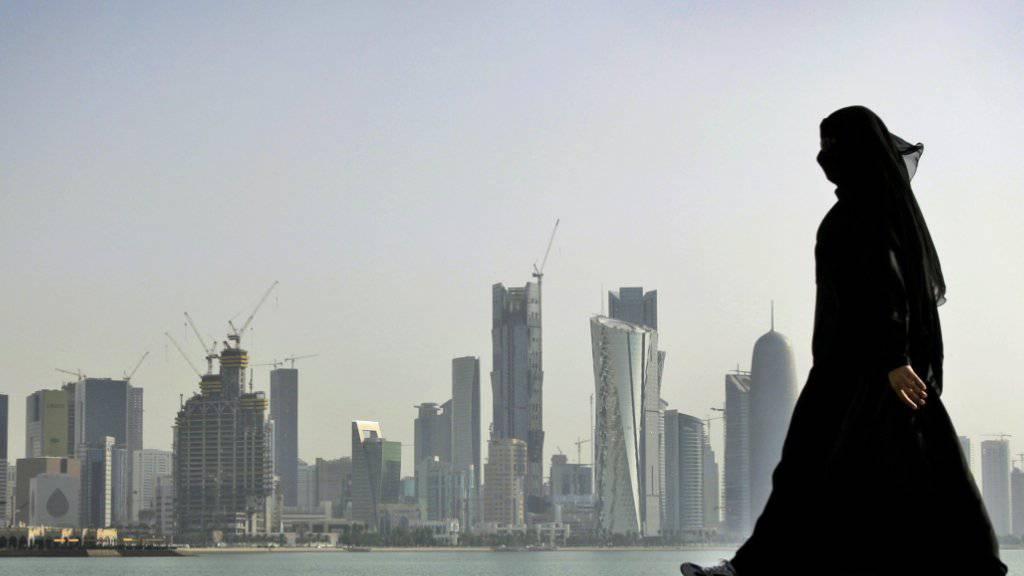 Blick auf die Stadt Doha in Katar (Archivbild)