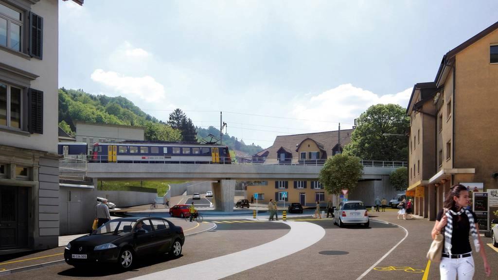Strassenprojekt Schadenmühle Baden
