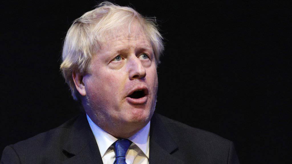 Gegen EU, Thatcher und Ordnung im Haarschopf: der frühere britische Aussenminister Boris Johnson will Parteichef der Konservativen werden und damit auch Kandidat für den Posten des Premierministers (in einer Aufnahme vom Oktober 2018).