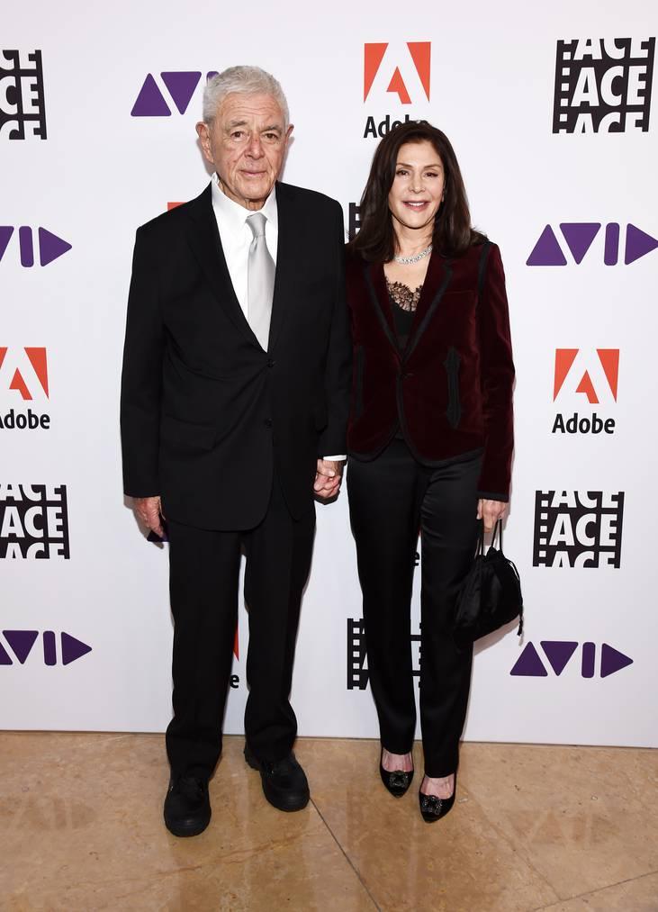 Richard Donner mit Ehefrau Lauren Shuler, die Filmproduzentin ist.