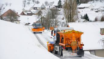 Schneebilder Aargau