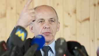 Bundespraesident Ueli Maurer in Mägenwil