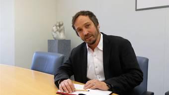 Gemeindepräsident Hampi Budmiger: «Wir werden uns die Zeit nehmen, die es braucht». Eddy Schambron
