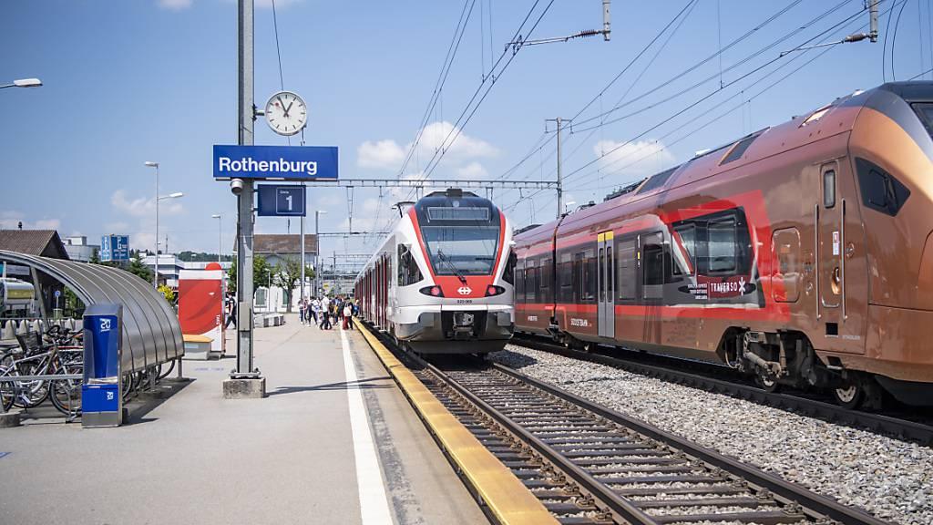 Kantonsregierung beantragt Sonderkredit für Bahnhof Rothenburg Station