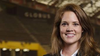 Die neue starke Frau beim SC Bern: Florence Schelling.