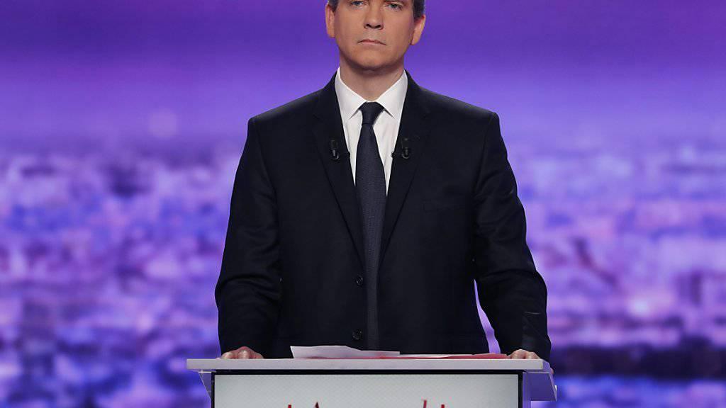 Arnaud Montebourg machte die beste Figur bei der ersten TV-Debatte der französischen Sozialisten.