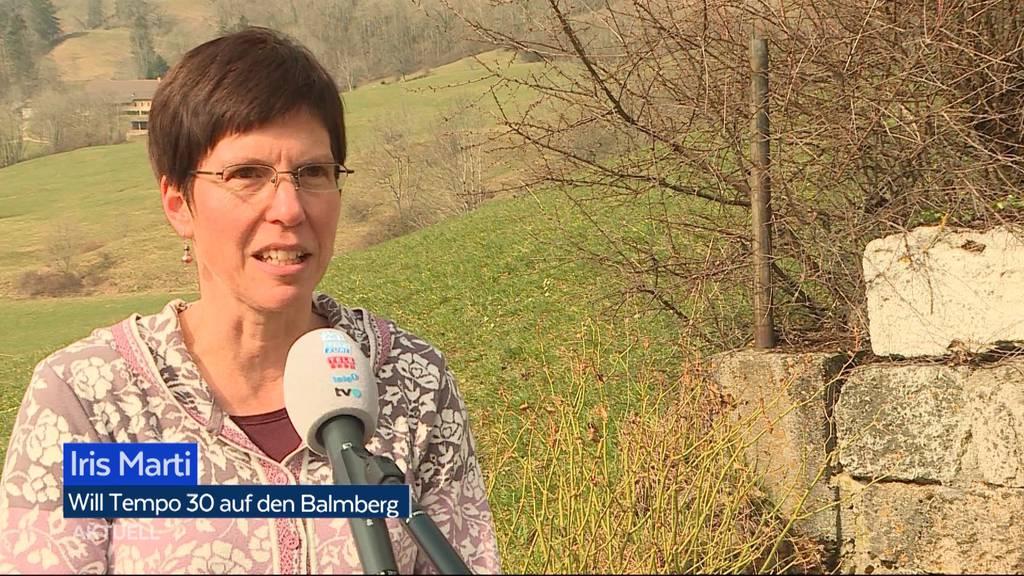 Tempo 30 auf dem Balmberg: Iris Marti will der «Tempobolzerei» ein Ende setzen