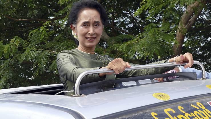 Beim Angriff auf eine Veranstaltung ihrer NLD-Partei sind ein Parlamentarier und drei weitere Personen schwer verletzt worden. (Archivbild)