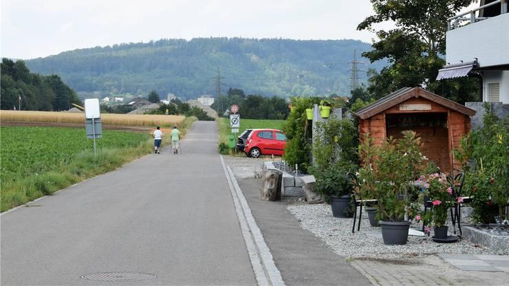 Auf der Höhe der Gärtnerei Winkenbach ist die Öffnung der Büntefeldstrasse vorgesehen.