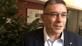 Es ist Markus Schneider wird in Baden Nachfolger von Stadtammann Geri Müller. Zur Wahl stellten sich auch Sandra Kohler (parteilos) und Erich Obrist (parteilos).