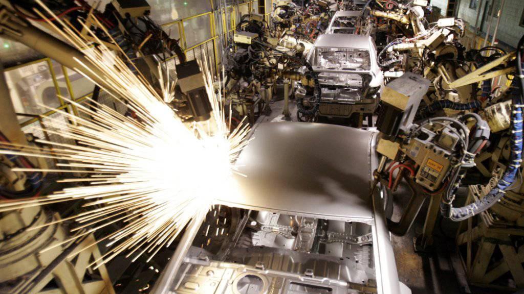 Autofabrik des südkoreanischen Herstellers Hyundai in Asan im Süden der Metropole Soul. (Archivbild)