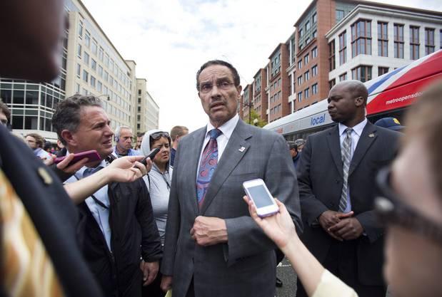 Vincent Gray, Bürgermeister von Washington DC.