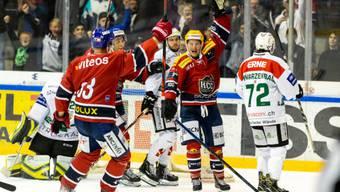 Keine guten Erinnerungen: der EHCO verlor das erste Gastspiel in La Chaux-de-Fonds 2:7.