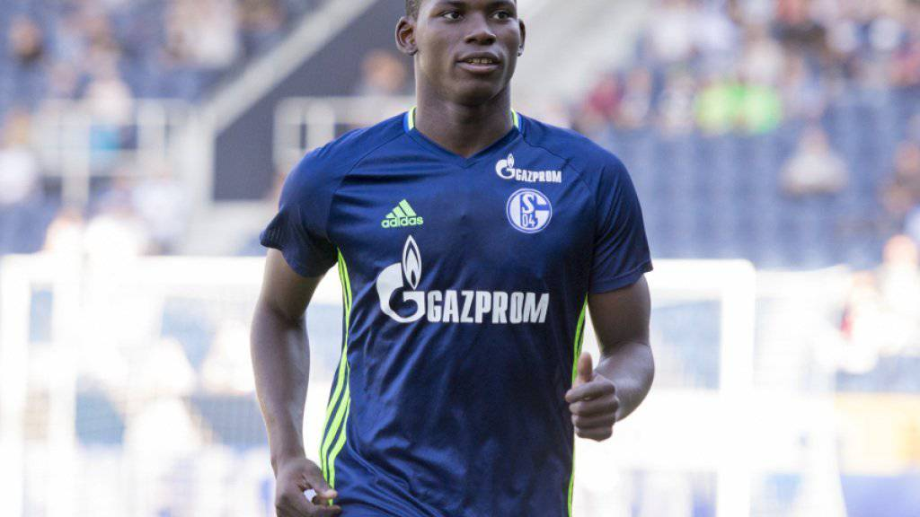 Der Schalker Rekord-Transfer Breel Embolo greift im Cup ein