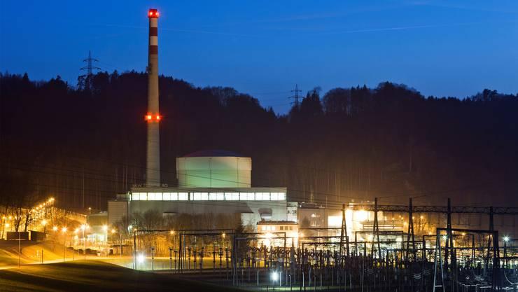 Stromdrehscheibe Mühleberg: In der Umschaltstation will Swissgrid bis 2019 einen dritten Transformator einbauen. Keystone