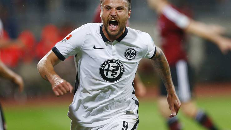 Haris Seferovic erzielt im Barrage-Rückspiel den 1:0-Siegtreffer