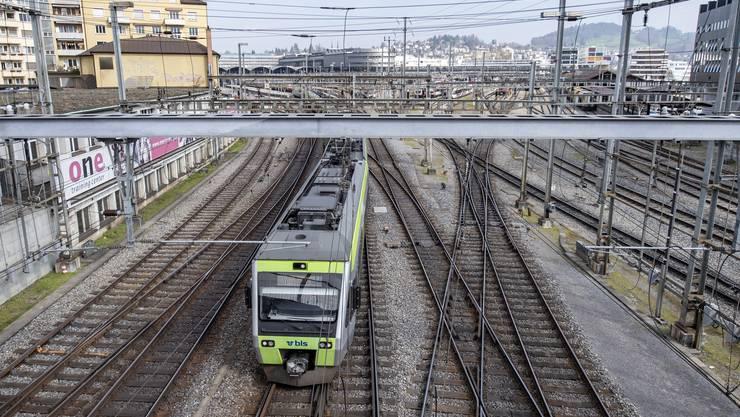 Die Züge der BLS beförderten im vergangenen Jahr 67,7 Millionen Fahrgäste.