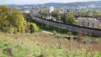 Auf dem Areal Chilhalde ist eine Überbauung vorgesehen mit drei Terrassenhäusern und insgesamt 13 Wohnungen.