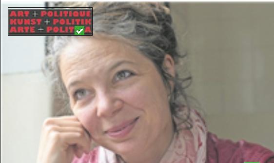 Schriftstellerin Melinda Nadj Abonji tritt für Kunst und Politik an.