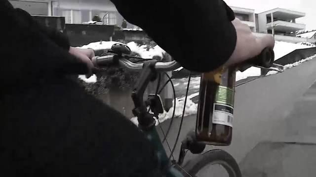 Alkoholisiert auf dem Drahtesel: Wer Schlangenlinien fährt, wird zurzeit kaum geahndet.