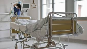 Der Libyer hat sich wegen Wunden durch einen Sprengkörper behandeln lassen.  (Symbolbild)