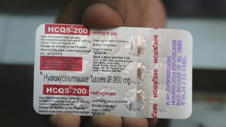 Die US-Lebensmittel- und Arzneimittelbehörde (FDA) hat ihre Ausnahmegenehmigung für das Malaria-Medikament Hydroxychloroquin zur Behandlung von Covid-19-Erkrankungen widerrufen. (Symbolbild)