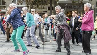 Im Jahr 2050 sind 25 Prozent der Weltbevölkerung über 60.