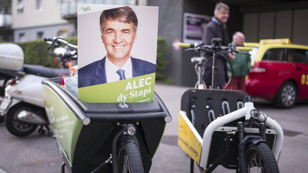 Liegt im Rennen ums Stadtpräsidium vorne: Der Grüne Alec von Graffenried.