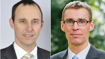 Pascal Furrer (SVP) und Lukas Pfisterer (FDP).