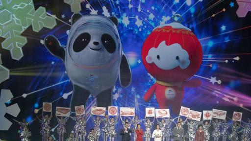 Das sind die Maskottchen für die Winterspiele 2022