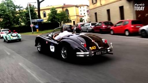 Zofinger Team nimmt an der legendären «Mille Miglia» teil