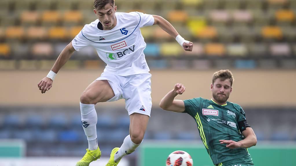 Er trifft und trifft und trifft: Aldin Turkes erzielt auch im Lausanner Stadtderby einen Treffer.