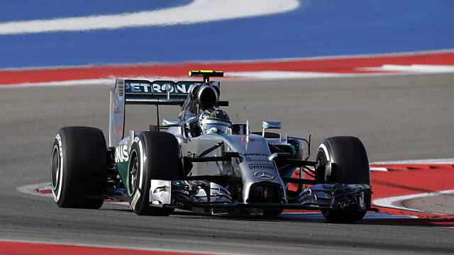 Bester Startplatz in Austin: Nico Rosberg