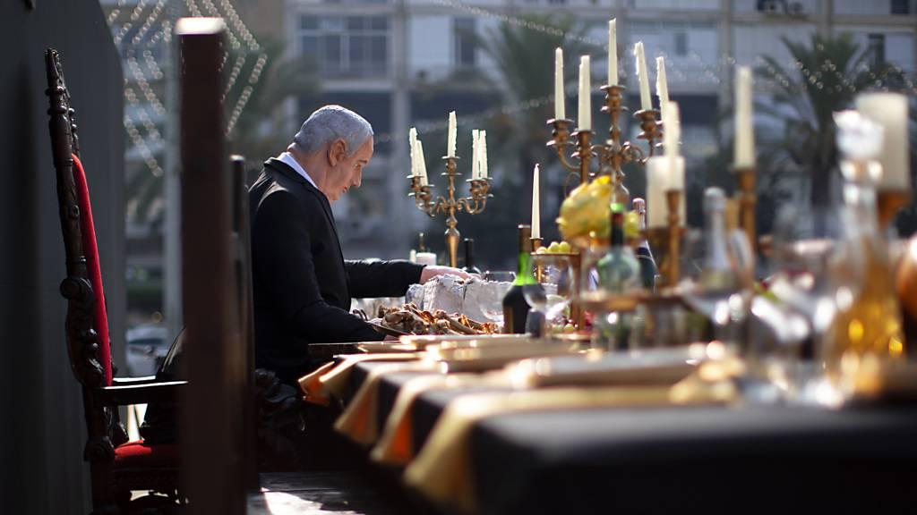 Netanjahus «Abendmahl» - Künstler kritisiert Israels Regierungschef