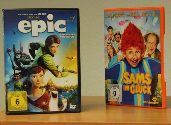 Begehrt: DVDs für Kinder.