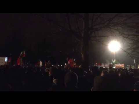Pegida und No-Pegida: Montagsdemos in Dresden vom 5. Januar 2015