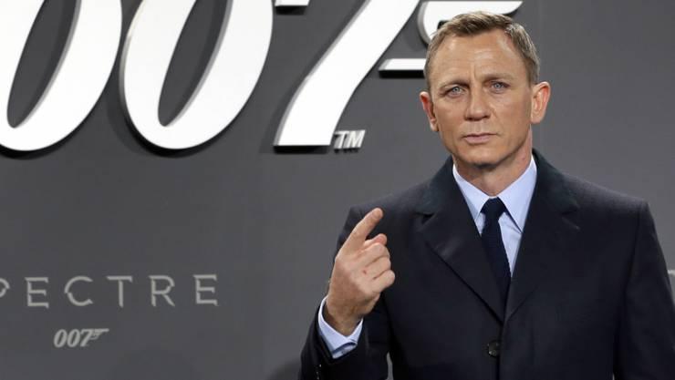 Daniel Craig hat angeblich für noch einen Bond unterschrieben. (Archivbild)