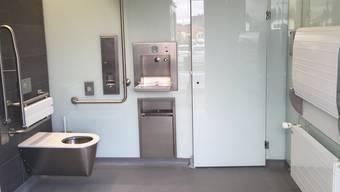 Die SBB und die Gemeinde Safenwil eröffnen beim Bahnhof Safenwil eine Unisex-WC-Anlage