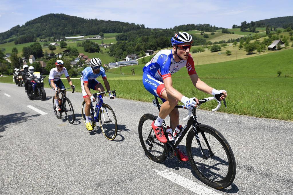 Stefan Küng an der Tour de Suisse 2019 (© Keystone)